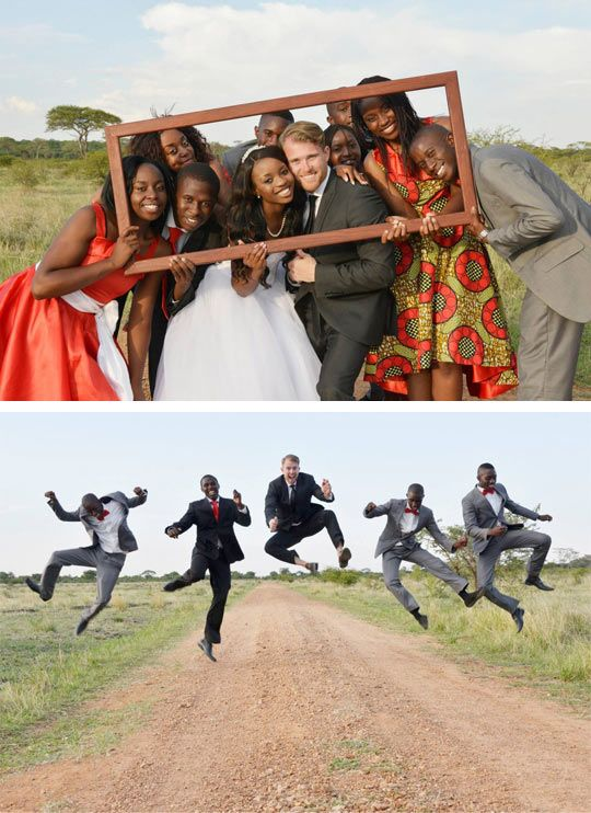 African wedding.
