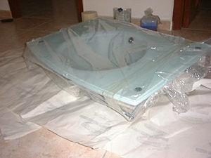 Lineabeta Pocia Glass Sink