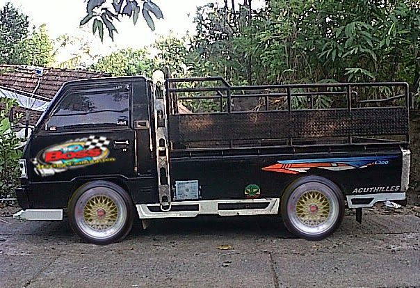 Cara Modifikasi Mobil L300 Pick Up Ceper MiniBus Terbaru