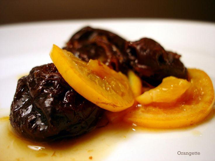 Orangette: The semantics of stewing - stewed prunes with citrus and cinnamon (wizenberg)
