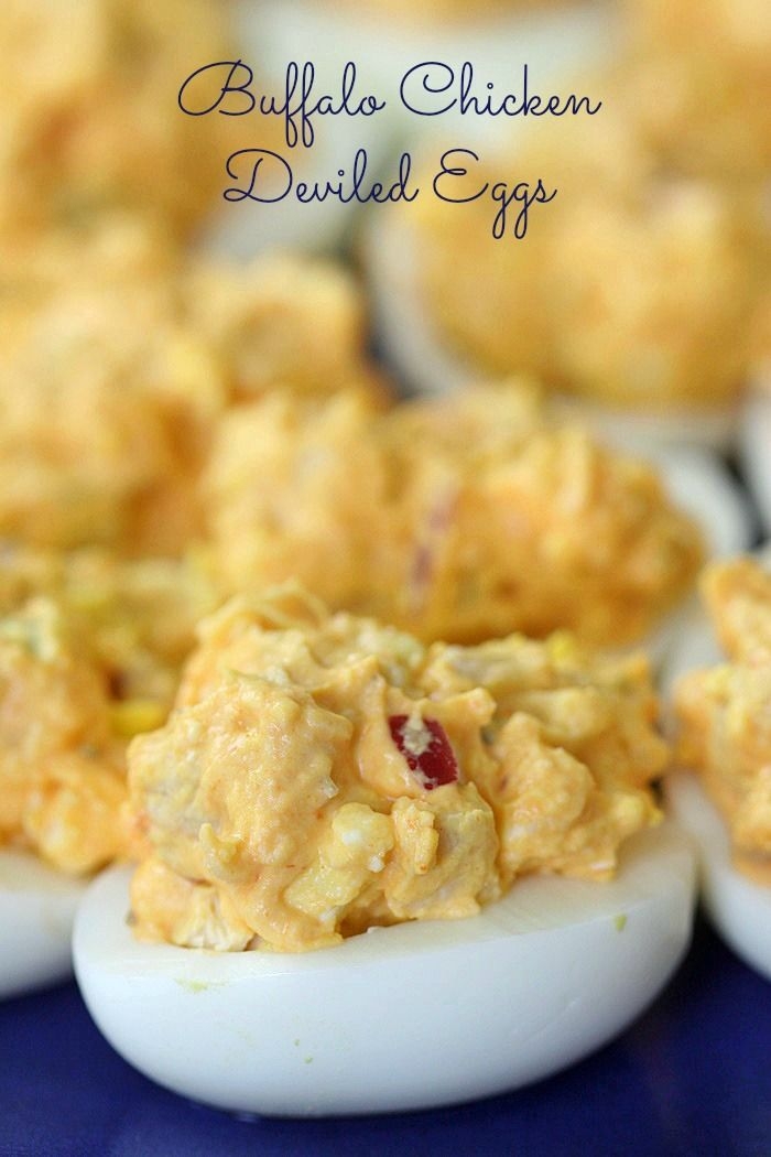 Buffalo Chicken Deviled Eggs With Ranch Recipe