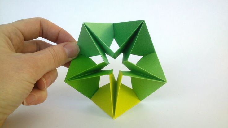 How to make a Modular Origami Star – Origami Step by Step (Easy)