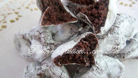 Dessert di mandorla... con cacao.