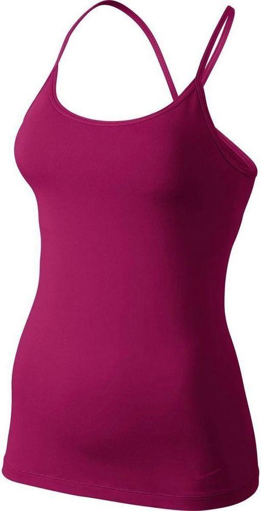 nike women's dri fit sports bra running tank top