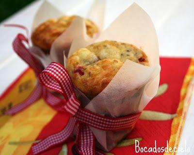 Bocadosdecielo: Muffins salados