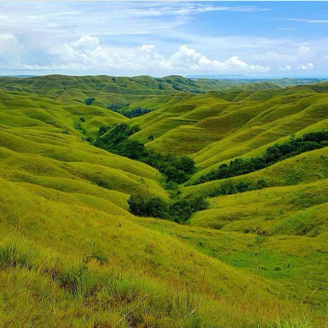 Warinding Hills East Sumba Indonesia