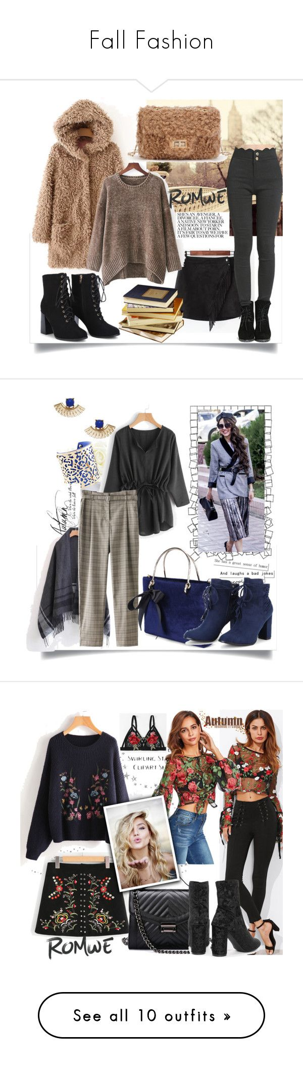 """""""Fall Fashion"""" by mery-2601 ❤ liked on Polyvore featuring modern, romwe, Trendy, onlineshopping, WithChic, Freddy and Pottery Barn"""
