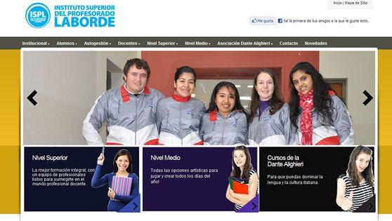 Instituto de Educación Superior Laborde http://profesoradolaborde.com.ar/index.php