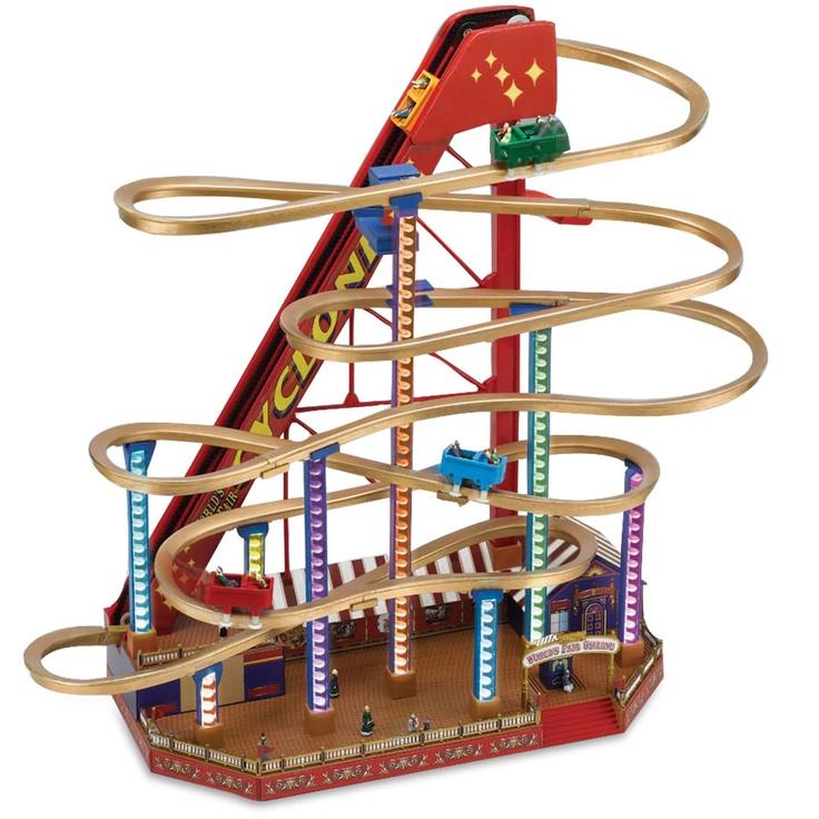 The Musical Illuminated Roller Coaster - Hammacher Schlemmer