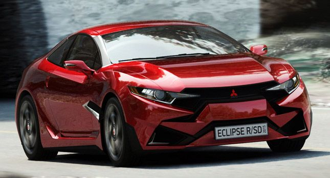 2015 Mitsubishi Eclipse R/SD Concept is a Realistic-Looking Design Study [w/Video]