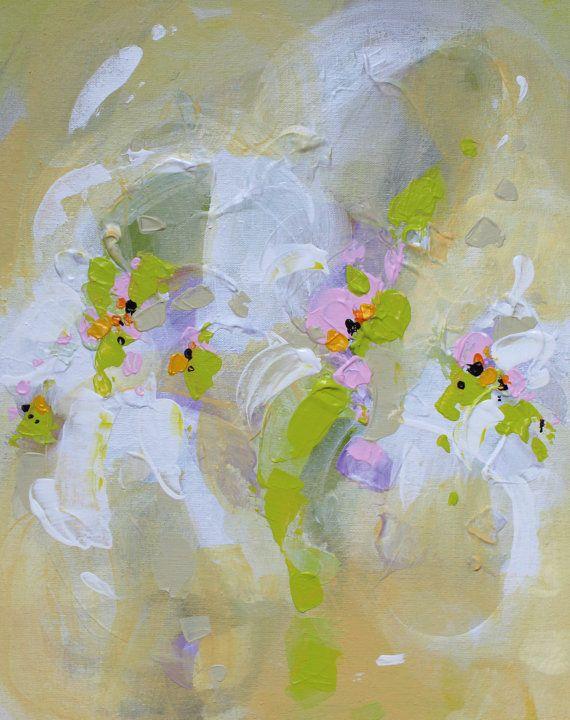 Abstract painting by Svetlansa #painting #abstract #svetlansa #homedecor #green #artwork #wallart #abstractart