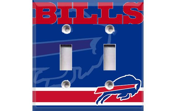 Buffalo Bills Football Double Light Switch Plate Cover