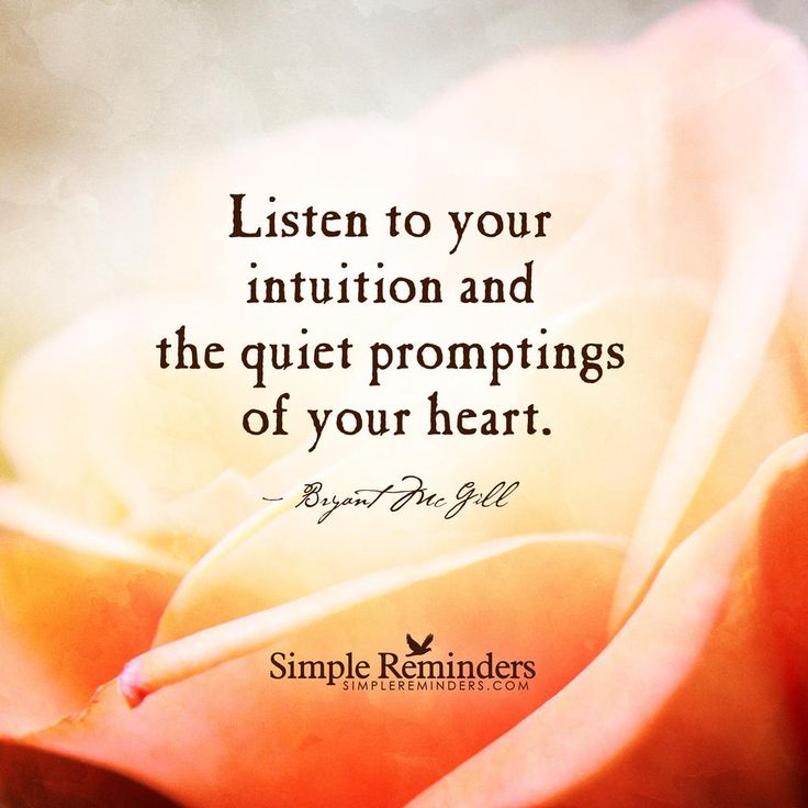 how to train your intuition science