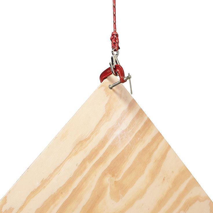 Lift with a Clamp: 22 Clever New Uses for Your Tools http://www.familyhandyman.com/tools/clever-new-uses-for-your-tools#3