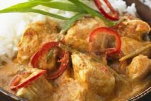 Thai Coconut Curry Chicken - MIB Pictures/UpperCut Images