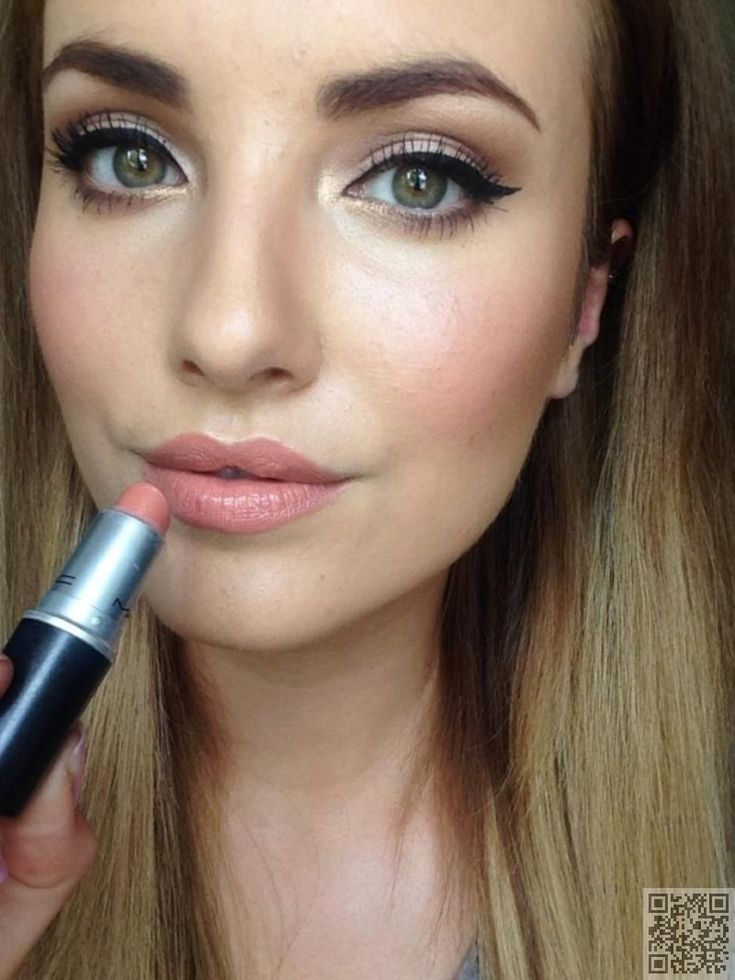 21. A #Perfect Pucker - #Makeup #Trend: 21 Pale Pink Lips Inspos You Must Try for Yourself ... → Makeup #Inspos