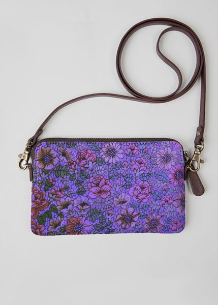 VIDA Statement Bag - POPPIES IN THE SKY by VIDA 3NzgrFpF