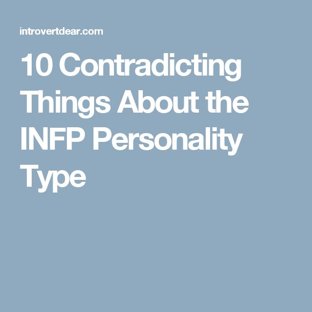 Careers for INFP Personality Types