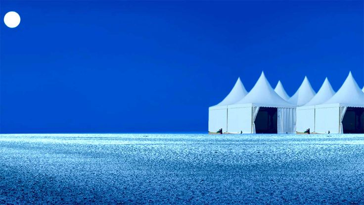 The great white desert of India Rann of Kutch
