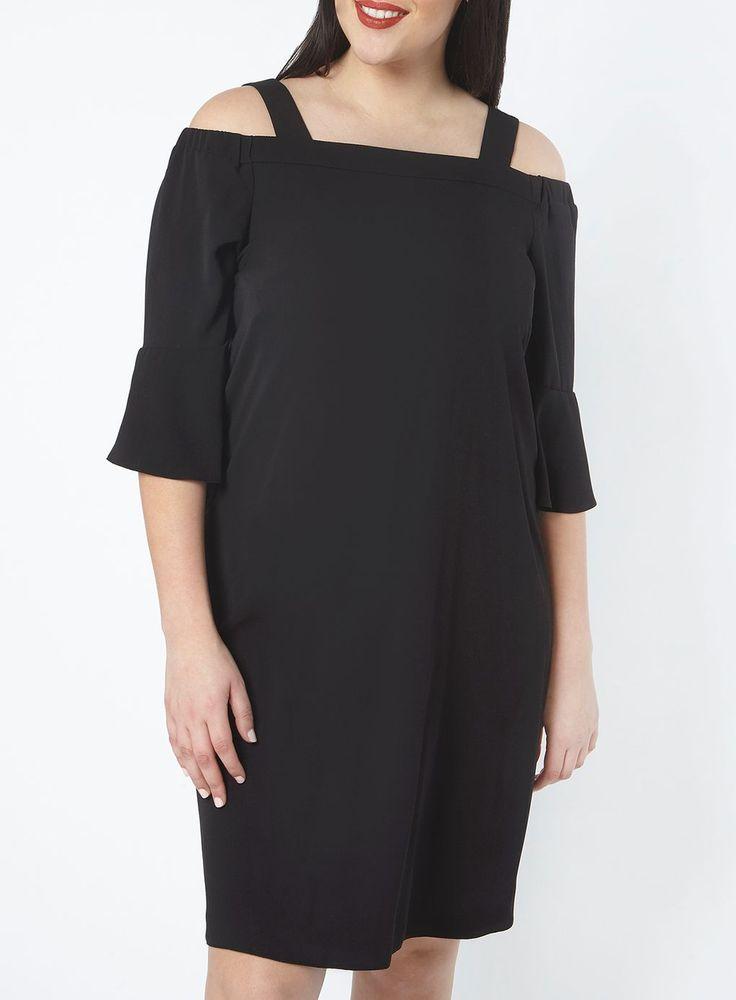Black Cold Shoulder Dress £40