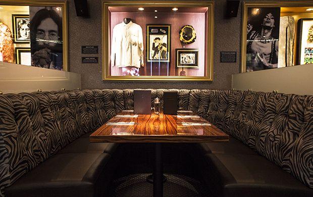 Hard Rock Café Helsinki. Interior made by Krook & Tjäder. www.krook.tjader.se