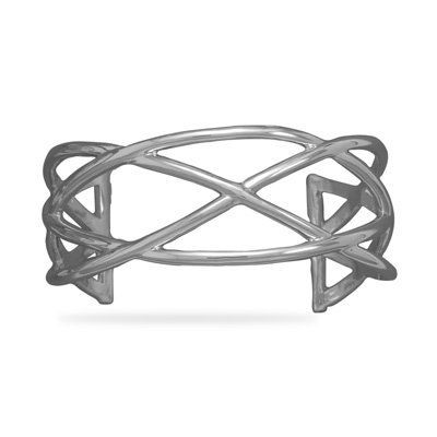 Rhodium Plated Weave Cuff Driscoll's Jewelry & Gifts. $252.82. Save 49%!