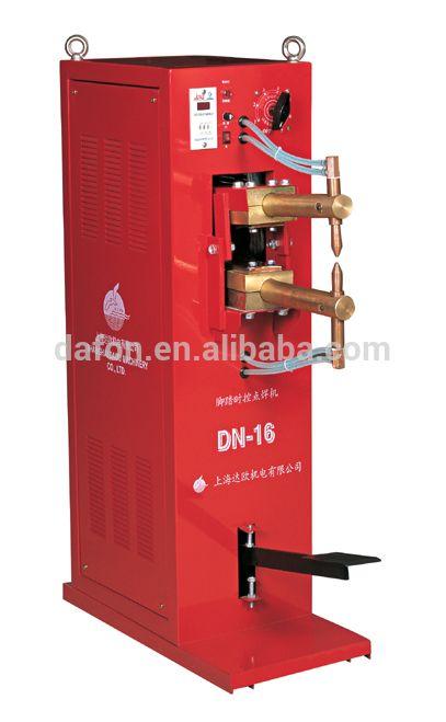 DN-16 Pedal spot welder/portable plastic welder aluminium spot welding machine/single-sided spot welding the arm 290mm