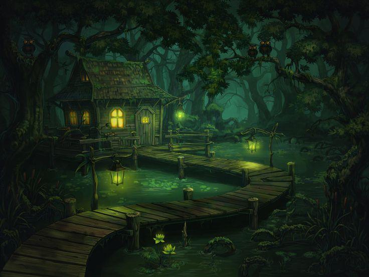 Gallery For Gt Fantasy Swamp Wallpaper Bayou Pinterest