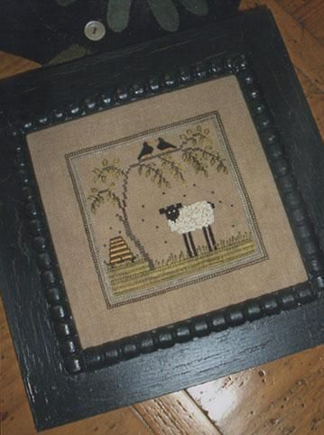 Buzzing Round Ewe - Cross Stitch Pattern