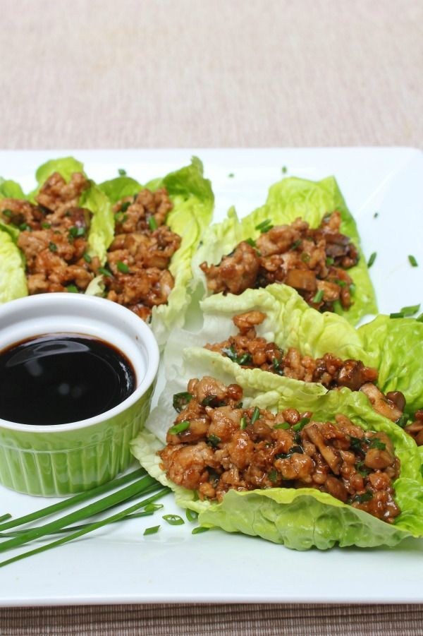 PF Changs Chicken Lettuce Wraps Copycat Recipe, Great For an Appetizer or a Light Dinner