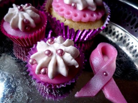 Pink Ribbon Cupcake #GoodCupcakesGood