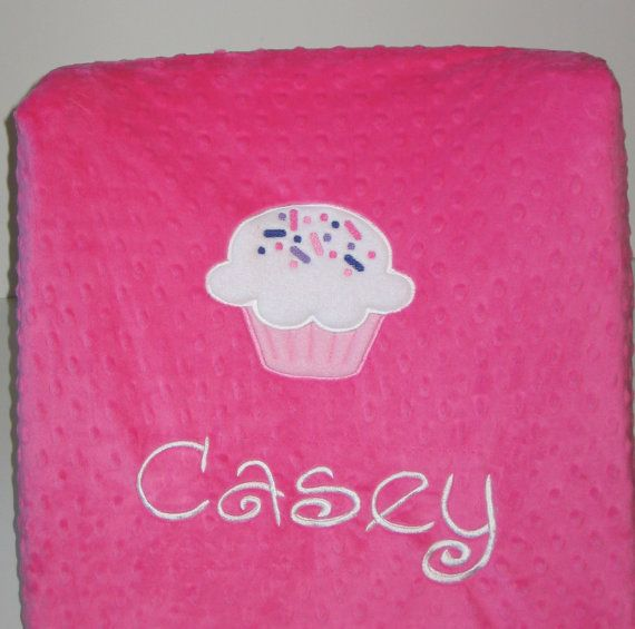 Diaper Changing Pad Cover, Changing Pad Cover,cDiaper Pad Cover, Cupcake, Baby Girl, Baby Gift, Color Choice, Custom, Can Be Personalized
