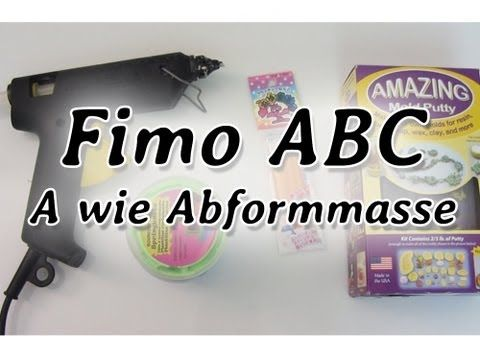 ▶ [Fimo ABC] A wie Abformmasse - YouTube