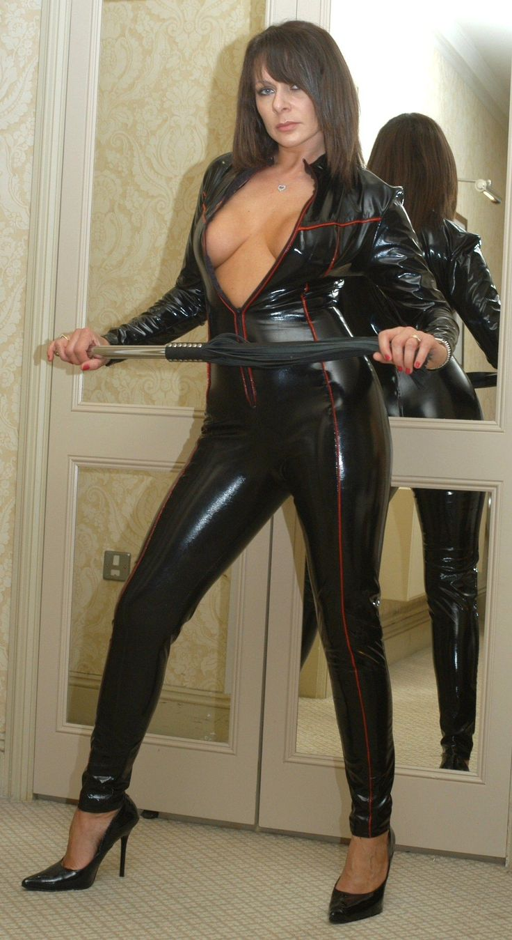 Fucking milf in catsuit