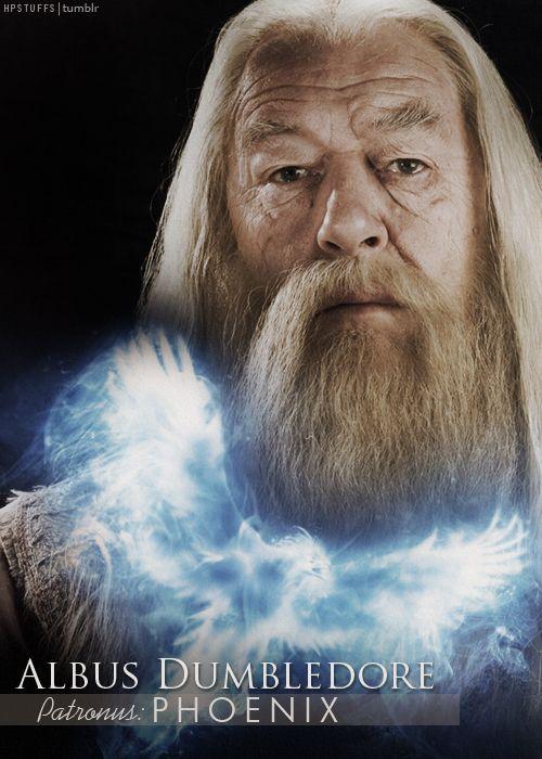 Dumbledore's patronus: phoenix