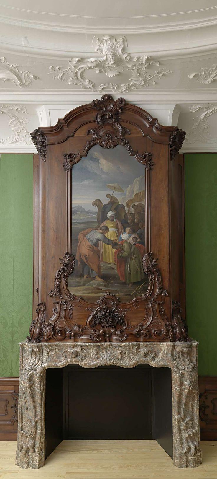 Amsterdamse grachtenkamer 1748, anoniem, ca. 1745 - ca. 1748