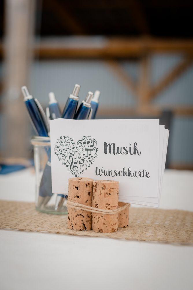 Musikwunschkarten Hochzeit