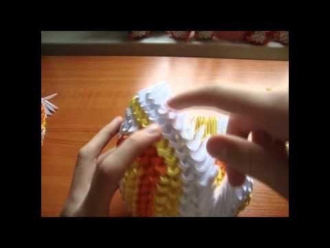 3D origami koi fish tutorial