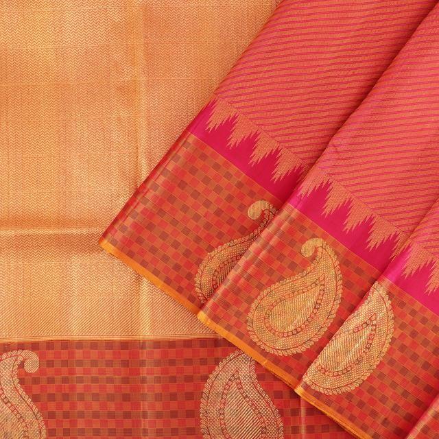 Kanakavalli Kanjivaram Silk Sari 072-01-28181 - Cover View
