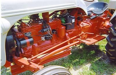 Ford       Tractor    Motor Engine Flathead    Ford    6 Cylinder Funk