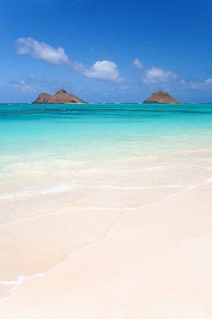 Mokulua Islands, Hawaii, USA