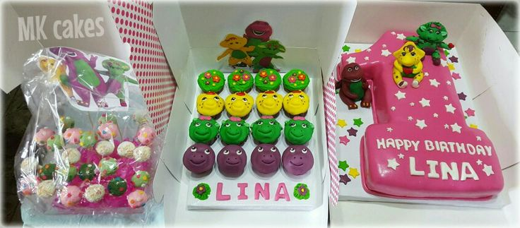 barney cake pops - photo #18