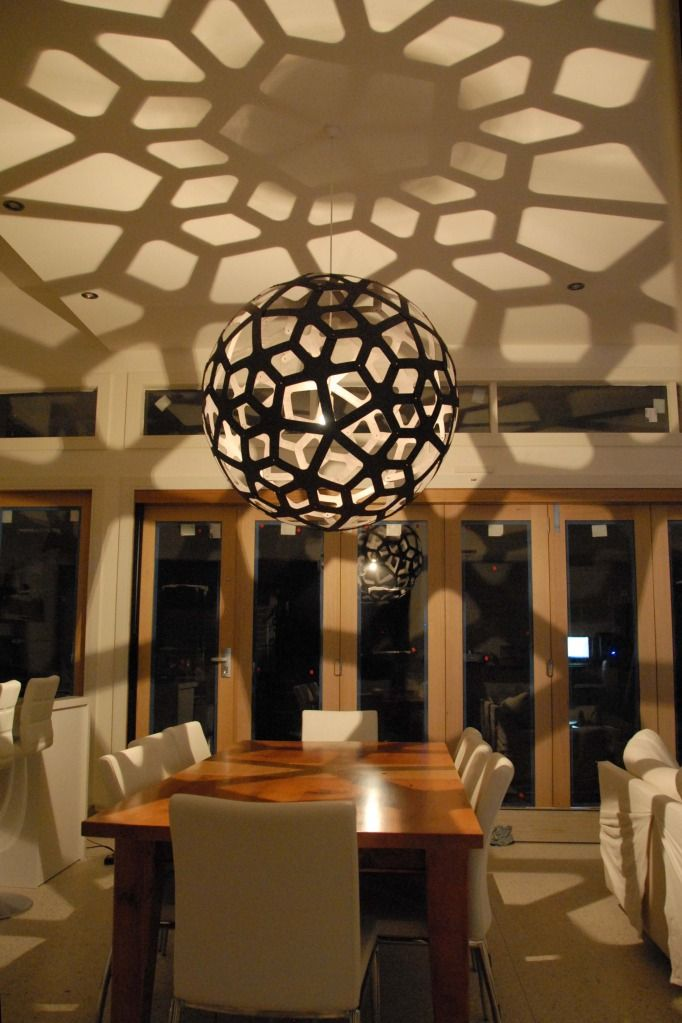 David Trubridge light - Coral.  Comes in up to 1600mm width.