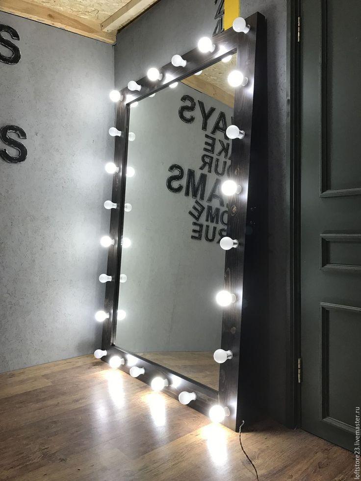 Купить Зеркало ESPRESSO. 120 см на 180 см - коричневый, гримерное зеркало, огромное зеркало