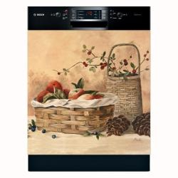 @Overstock - This rustic dishwasher cover can change the atmosphere in your kitchen and bring a bit of countryside feel with its apple themed print. Warm and homey, it attaches with a magnetic cover or adhesive strips, for a safe and long lasting effect.http://www.overstock.com/Home-Garden/Appliance-Art-Apples-and-Berries-Dishwasher-Cover/6291186/product.html?CID=214117 $41.99