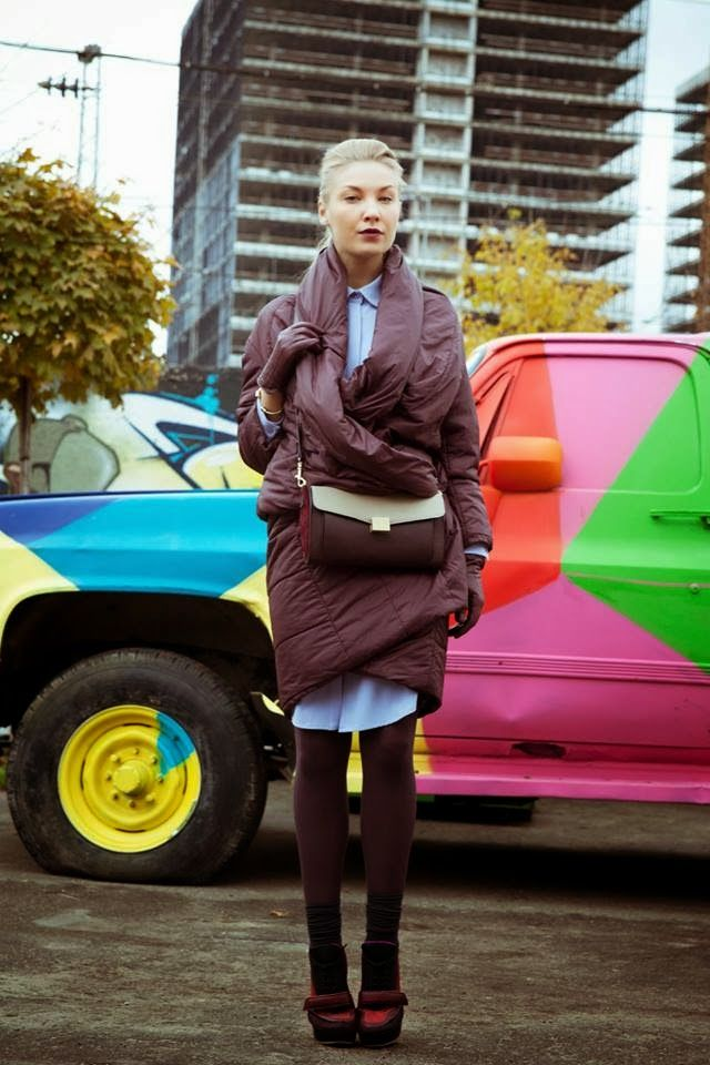 Stree Style мой выбор- это строгая изюминка, это совершенно деловой наряд, но с намеком легкость, благодаря сережкам и волану на пальто. А...