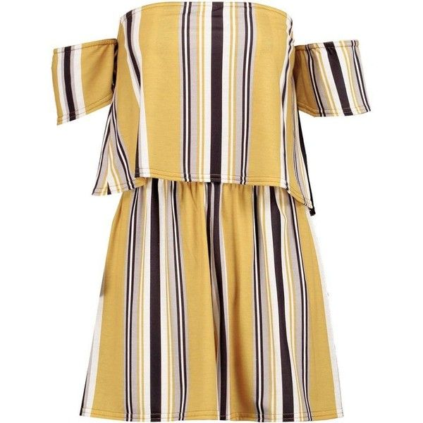 Image result for boohoo yellow stripe romper