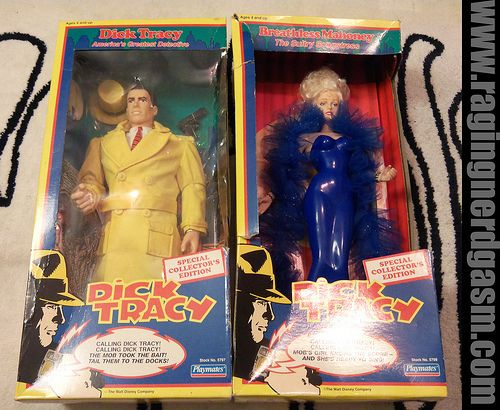 Simple Dick tracy figure monthly