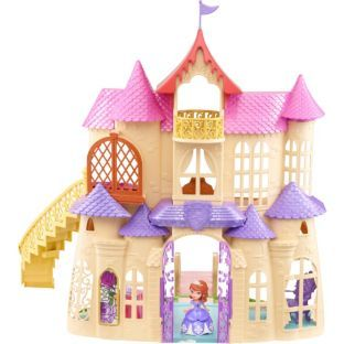 Buy Disney Sofia the First Magical Talking Castle Playset at Argos.co.uk - Your Online Shop for Disney Princess toys, Dolls houses.