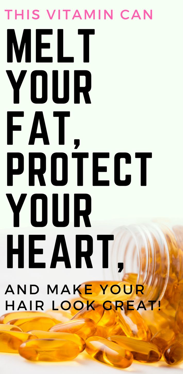 This Vitamin Can Melt Your Fat, Protect Your Heart, and Make Your Hair Look Great! #weightloss #hair